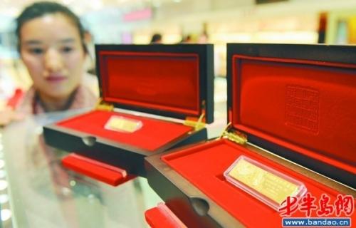 —买金条换首饰,20克省千元