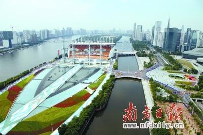 广州海心沙未来计划全岛免费开放 公园不收门票
