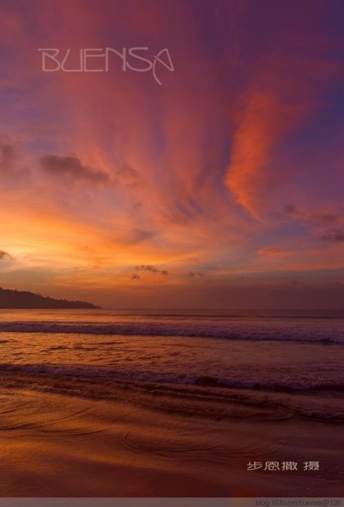 闲逛巴厘岛07----醉倒在巴厘岛的黄昏 - 步恩撒 - 步恩撒的博客