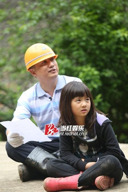 黄磊、多多父女情深
