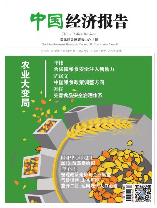 中国经济报告2015年12月刊