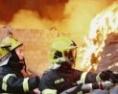 130名消防历经13小时扑灭