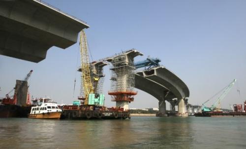 珠港澳大桥香港段公布的116个混凝土砖样本出现异常.-港珠澳大桥香