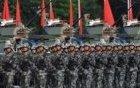 习近平检阅驻港部队现场