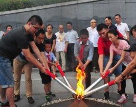 福州抗日志士纪念墙新添150个英名
