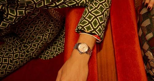 时装表,图片来源于GUCCI。