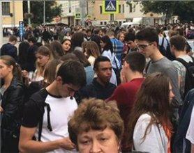 莫斯科多地受炸弹威胁 超万人被紧急疏散