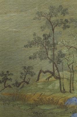 图8 《千里 江山》的小草、林木