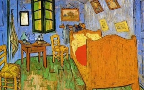 梵高《卧室》