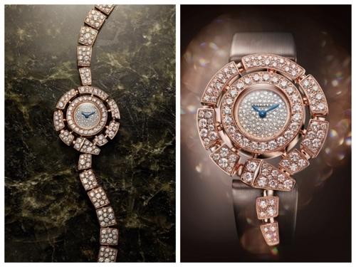 Serpenti Incantati系列珠宝表,图片来源宝格丽。