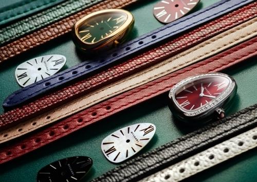 宝格丽全新SERPENTI系列腕表,图片来源宝格丽。