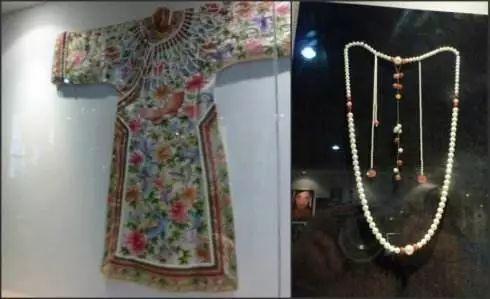 连慈禧太后的衣服,都是用珍珠串成的