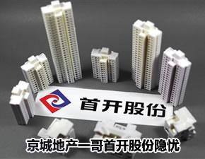 京城地产一哥首开股份隐忧:增速下降 利润增长存疑