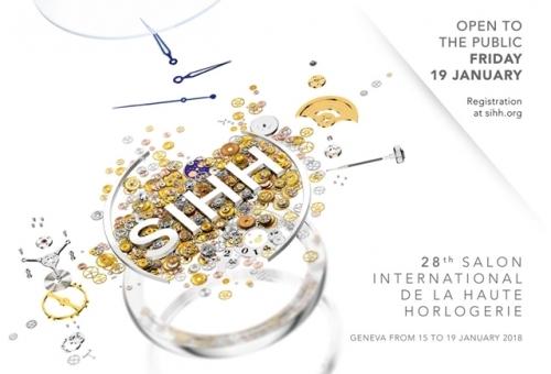 2018日内瓦高级钟表沙龙,图片来源于瑞士高级钟表基金会。