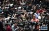 3月5日,第十三届全国人民代表大会第一次会议在北京人民大会堂开幕。这是记者在会场拍摄。 新华社记者 王晔 摄