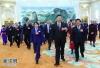 3月5日,中共中央总书记、国家主席、中央军委主席习近平参加十三届全国人大一次会议内蒙古代表团的审议。 新华社记者 谢环驰 摄