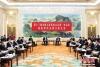 3月6日,十三届全国人大一次会议福建省代表团在北京举行全体会议,审议政府工作报告。 中新社记者韩海丹 摄