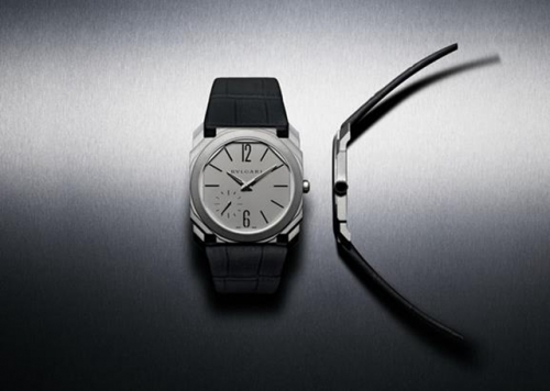宝格丽Octo Finissimo自动上链机械腕表,图片来源于宝格丽。