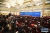 3月20日,国务院总理李克强和副总理韩正、孙春兰、胡春华、刘鹤在北京人民大会堂与中外记者见面,并回答记者提问。 新华社记者 王建华摄