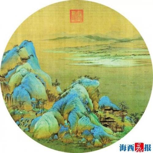 千里江山图版画