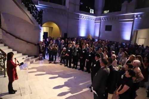 开幕式酒会现场(图片来源:中国驻纽约总领馆微信公众号)