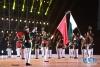 4月24日,巴基斯坦武装力量三军乐队在军乐节开幕式上表演。