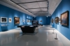 5月3日在德国特里尔市立西麦翁博物馆拍摄的马克思主题展。新华社记者单宇琦 摄