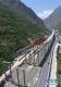 这是修建中的汶马高速(5月7日无人机拍摄)。新华社记者 刘坤 摄