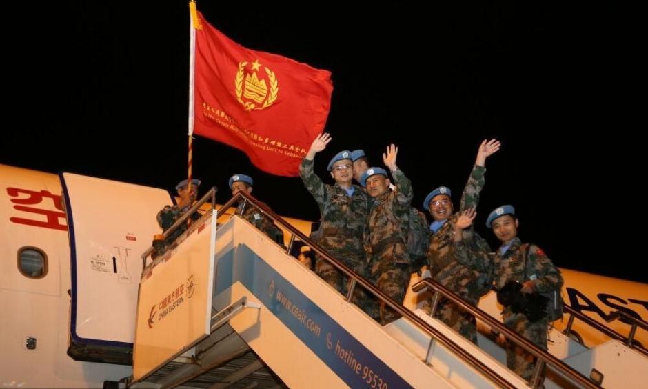 第17批赴黎巴嫩维和勇士出征【1】