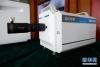 这是5月22日拍摄的由中国科学院西安光学与精密机械研究所研制的大动态范围条纹相机。