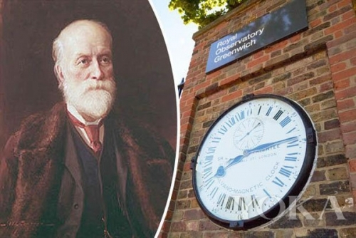 世界标准时间发明者:Sandford Fleming(史丹佛•佛莱明) 图片来自品牌