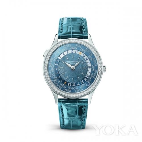 百达翡丽首款女式世界时间腕表——Ref.7130  图片来自品牌