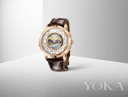 百达翡丽 Ref. 5531R 世界时间三问报时腕表  图片来自品牌