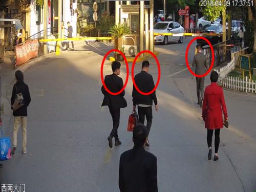 ?民警锁定三名嫌疑人