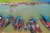 鄱阳湖第17个禁渔期即将结束 渔民整理渔具渔船等待开渔【1】