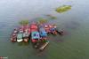 鄱阳湖第17个禁渔期即将结束 渔民整理渔具渔船等待开渔【3】