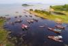 鄱阳湖第17个禁渔期即将结束 渔民整理渔具渔船等待开渔【5】