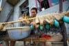 鄱阳湖第17个禁渔期即将结束 渔民整理渔具渔船等待开渔【7】