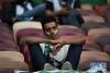 6月14日,沙特阿拉伯队球迷在比赛后情绪低落。