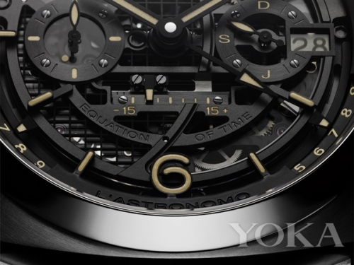 Luminor 1950 Tourbillon Moon Phases Equation of Time GMT腕表  图片来自品牌