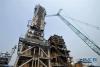 这是6月24日拍摄的华北石化千万吨炼油升级改造项目现场。