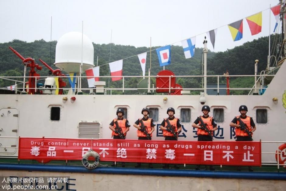 中老缅泰四国启动第71次湄公河联合巡逻执法