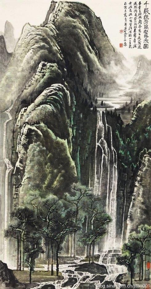 嘉德春拍 李可染《千岩竞秀万壑争流图》1.265亿元拍出