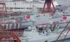 中国2艘055型万吨级驱逐舰在大连同时下水【2】