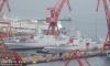 中国2艘055型万吨级驱逐舰在大连同时下水【3】