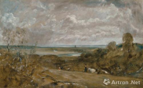 NO.7布伦(Elisabeth-Louise Vigée Le Brun)《肖像》成交价:81.275万英镑