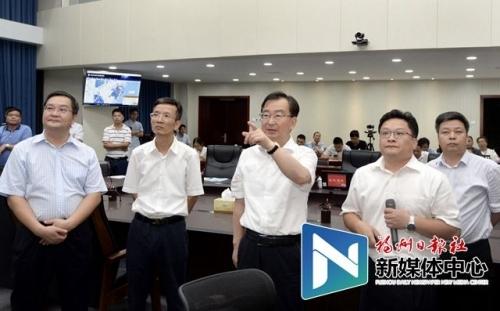 王宁对防御第8号台风工作进行再检查再部署