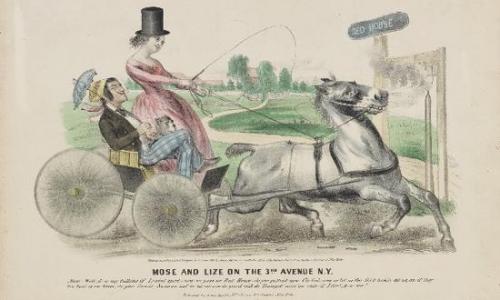 展览中展出的维多利亚时代海报