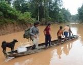 直击老挝南部阿速坡溃坝事故灾区现场