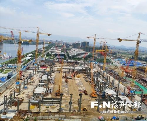 滨海新城已生成3批共180个项目 67个项目同时在建